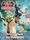 Star Wars™ The Clone Wars - Mein kunterbunter Vorschulblock