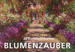 Blumenzauber, Postkartenbuch