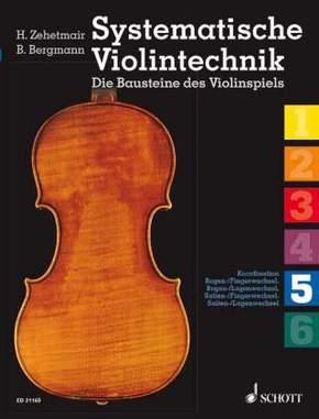 Systematische Violintechnik - Bd.5