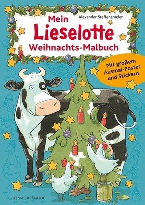 Mein Lieselotte Weihnachts-Malbuch