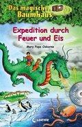 Das magische Baumhaus - Expedition durch Feuer und Eis, m. Audio-CD 'Angriff des Wolkendrachen'