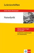 """Lektürehilfen """"Naturlyrik"""""""