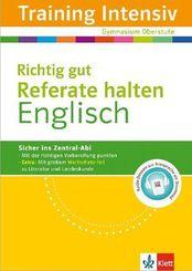 Training Intensiv Englisch, Richtig gut Referate halten
