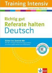 Training Intensiv Deutsch, Richtig gut Referate halten