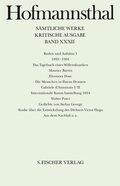 Sämtliche Werke, Kritische Ausg.: Reden und Aufsätze; Bd.32 - Tl.1