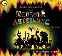 Die Monsterabteilung, 4 Audio-CDs