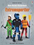 Mein Anzieh-Stickerbuch: Extremsportler