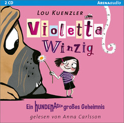 Violetta Winzig - Ein hundenasengroßes Geheimnis, 2 Audio-CDs