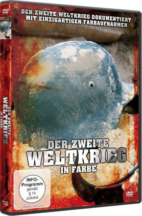 Der Zweite Weltkrieg in Farbe, 1 DVD - Tl.1+2