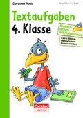 Einfach lernen mit Rabe Linus: Textaufgaben 4. Klasse
