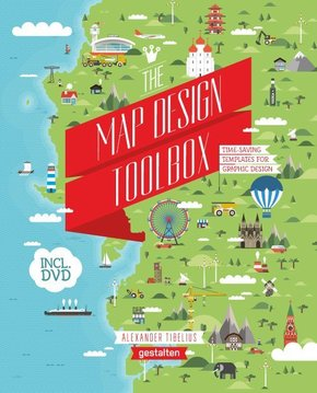 The Map Design Toolbox, w. DVD-ROM