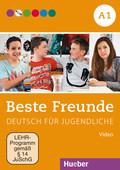 Beste Freunde - Deutsch für Jugendliche: Video, 1 DVD; Bd.A1