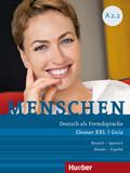Menschen - Deutsch als Fremdsprache: Glossar XXL Deutsch-Spanisch, Guía Alemán-Español; .A2/2
