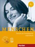 Menschen - Deutsch als Fremdsprache: Arbeitsbuch, m. 2 Audio-CDs; Bd.B1