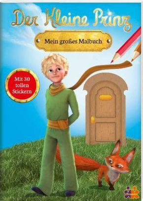 Der kleine Prinz, Mein großes Malbuch