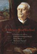 Verlagskorrespondenz: Conrad Ferdinand Meyer, Betsy Meyer - Hermann Haessel mit zugehörigen Briefwechseln und Verlagsdok - Tl.1