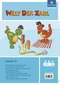 Welt der Zahl - Inklusionsmaterialien: Paket D, 4 Hefte; H.D1-D4