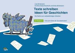 ABC-Lernlandschaft 2+: Texte schreiben: Ideen für Geschichten, Karteikarten