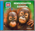 Menschenaffen / Elefanten, 1 Audio-CD - Was ist was Hörspiele