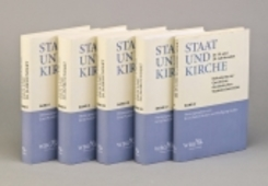 Staat und Kirche im 19. und 20. Jahrhundert, 5 Bde.