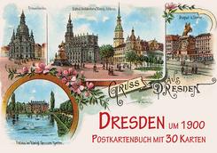 Dresden um 1900, Postkartenbuch