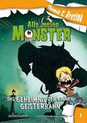 Alle meine Monster, Das Geheimnis der grünen Geisterbahn