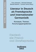 Literatur in Deutsch als Fremdsprache und internationaler Germanistik