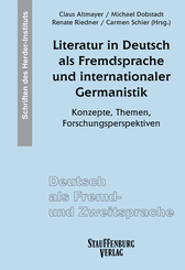Literatur in Deutsch als Fremdsprache und internationaler Germanistik