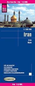 Reise Know-How Landkarte Iran