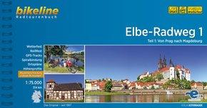 Bikeline Radtourenbuch Elbe-Radweg - Tl.1