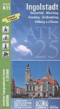 Amtliche Topographische Karte Bayern Ingolstadt