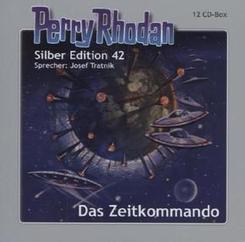 Perry Rhodan, Silber Edition - Das Zeitkommando, 12 Audio-CDs