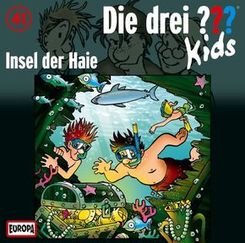 Die drei ???-Kids - Insel der Haie, 1 Audio-CD