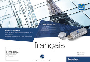 USB Sprachkurs Français, 1 USB-Stick und 1 DVD-ROM