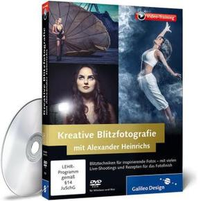 Kreative Blitzfotografie mit Alexander Heinrichs, DVD-ROM