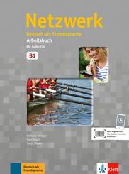 Netzwerk: Arbeitsbuch Gesamtband, m. 2 Audio-CDs; Bd.B1