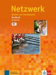 Netzwerk: Kursbuch, m. 2 Audio-CDs; Bd.B1