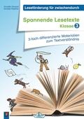 Spannende Lesetexte - Klasse 3, m. CD-ROM