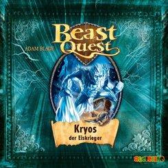 Beast Quest - Kryos, der Eiskrieger, 1 Audio-CD