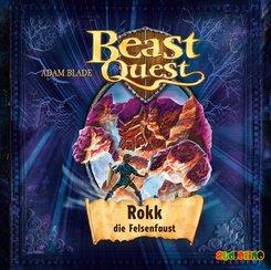 Beast Quest - Rokk, die Felsenfaust, 1 Audio-CD