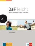 DaF leicht: Lehrerhandbuch; Bd.A1