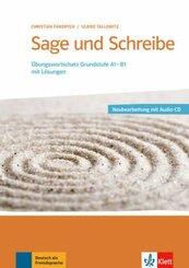 Sage und schreibe, m. Audio-CD