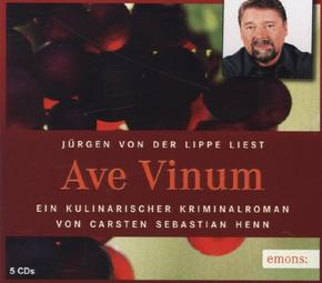 Ave Vinum, 5 Audio-CDs
