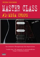 Peter Fischers Master Class - für Gitarre, m. MP3-DVD - Vol.1