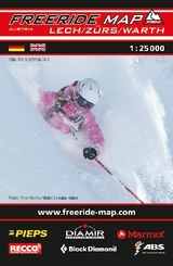 Freeride Map Lech / Zürs / Warth