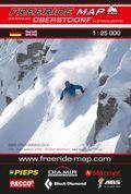 Freeride Map Oberstdorf / Kleinwalsertal