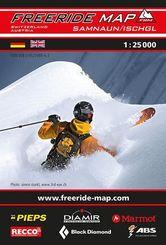 Freeride Map Samnaun / Ischgl