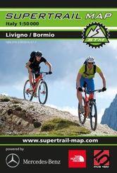 Supertrail Map Livigno / Bormio