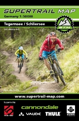 Supertrail Map Tegernsee / Schliersee