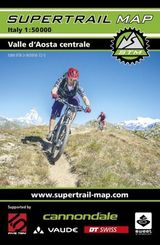 Supertrail Map Valle d`Aosta Centrale